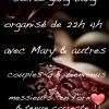 soirée gang bang organisé avec Mary & couples GB bienvenus